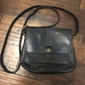Fossil Leather Crossbody - Kinley